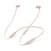 【支持礼品卡】Beats X 蓝牙无线 入耳式耳机 运动耳机 手机耳机 游戏耳机 带麦可通话 哑光金色 MR3L2PA