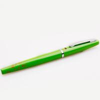 MEDICI/梅第奇 M1特细钢笔(绿色笔杆)梅塞德系列时尚书写签名墨水笔男女中小学生练字办公钢笔财务财会笔 当当自营