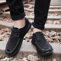 春季男士帆布鞋低帮板鞋工作鞋子男鞋布鞋男休闲鞋单鞋
