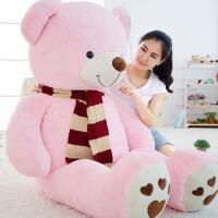 抱抱熊布娃娃公仔女生大熊儿童毛绒玩具生日礼物泰迪熊