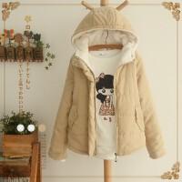 羽绒服 新品女冬季新款宽松面包服女韩版学生短款加厚显瘦棉衣外套小棉袄潮
