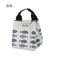 北欧风防水保温包 加厚饭盒袋便当包便当袋饭盒包 带饭包手提袋子