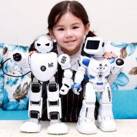 阿尔法机器人玩具智能对话遥控男女孩子小胖唱歌跳舞儿童机械战警