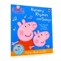 英国进口 粉红猪小妹儿歌 Peppa Pig--Nursery Rhymes and Songs Picture 小猪