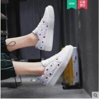 单鞋小白鞋运动鞋女平底小清新新款ins学生百搭韩版可爱