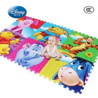 迪士尼爬行垫宝宝爬爬垫 环保加厚婴儿泡沫地垫 儿童爬行毯游戏毯2cm