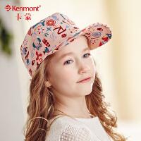 kenmont韩国儿童帽子夏天鸭舌帽男童女童太阳帽小孩防晒帽棒球帽4710