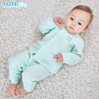 婴儿内衣套装0-1-3岁初生儿衣服宝宝春秋装