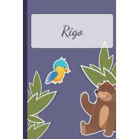 【预订】Rigo: Personalized Notebooks - Sketchbook for Kids with