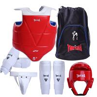 跆拳道护具全套套装儿童六件套跆拳道训练比赛