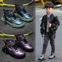 男童鞋男孩鞋子冬季保暖棉鞋加绒二棉鞋儿童运动鞋