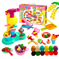 儿童面条机雪糕冰淇淋机彩泥轻粘土玩具橡皮泥模具工具套装