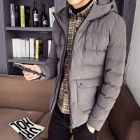 棉衣男士外套冬季2019新款韩版潮流ins加厚棉袄冬装羽绒棉服 连帽