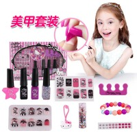 女孩玩具仿真过家家 儿童化妆品公主彩妆盒套装