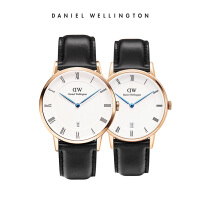 DanielWellington正品丹尼尔惠灵顿男女士皮带石英表情侣表dw手表