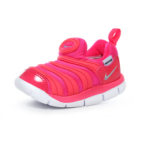 耐克 NIKE DYNAMO FREE (PS) 幼童运动童鞋 毛毛虫儿童鞋 343938 620 赛车粉