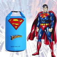 超人闪电蝙蝠侠户外防水袋防水包游泳收纳袋背包漂流桶包