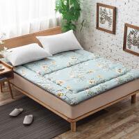 伊丝洁家纺加厚海绵睡垫0.9m 单人学生宿舍榻榻米床垫床褥1.2米褥子双人