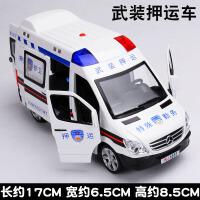 儿童汽车模型奔驰120救护车声光仿真玩具合金小汽车男孩迷你小车