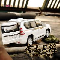 儿童玩具小汽车模型丰田普拉多合金车模型玩具车声光回力