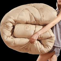 驼毛被被子冬被加厚保暖冬季棉被单人床学生宿舍秋季被芯10斤冬天