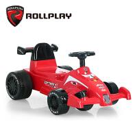 儿童电动车可坐人玩具车方程式f1宝宝赛车四轮小孩卡丁车