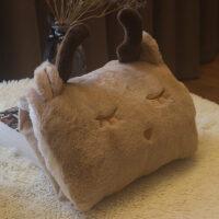 热水袋充电式毛绒可爱暖手宝可拆洗电暖宝护腰带防爆��宝宝热宝女