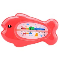 【当当自营】小白熊 小鱼婴儿水温计09224 温度计