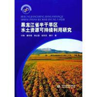 黑龙江省半干旱区水土资源可持续利用研究 付强 等