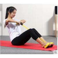 脚蹬拉力器减肚子瘦腰器收腹肌训练器仰卧起坐器材健身家用运动拉力器