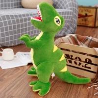 恐龙毛绒玩具公仔超大号霸王龙布偶娃娃睡觉抱枕儿童生日礼物男孩定制 军绿色 霸王龙