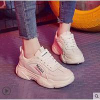 网红同款新款老爹鞋女ins韩版潮学生超火平底休闲运动鞋子