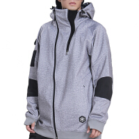 滑雪服冬季户外帽衫男女款保暖防风防水单双板滑雪上衣透气
