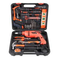 哈博-家用工具套装 五金工具箱 电工木工手动维修电钻组合组套电动工具