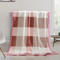 冬季加厚珊瑚绒毯子法莱绒格子盖毯保暖宿舍学生 180x200cm
