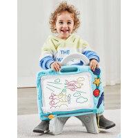 画板儿童磁性涂鸦板彩色写字板小孩宝宝幼儿无尘小画画板手写板笔