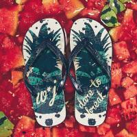 男士人字拖男夏季韩版潮流时尚拖鞋防滑外穿个性夹脚沙滩凉拖