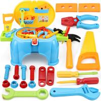 儿童工具箱过家家修理台小孩男童3-5-6岁7玩具男孩宝宝套装8-10岁