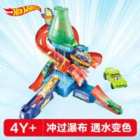 男孩玩具hotwheel风火轮变色小车科学实验室轨道