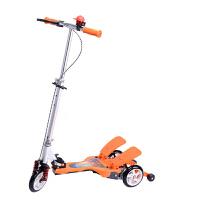 儿童户外休闲娱乐踏板减震折叠脚踏板轮双踏车脚踏冲浪助力三轮滑板车