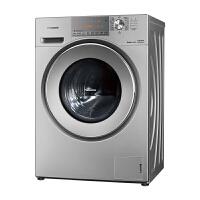 松下(Panasonic) XQG100-E1025 10公斤滚筒家用洗衣机 大容量泡沫净银色