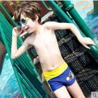 儿童泳裤男童平角游泳裤小宝宝中大童男孩速干游泳衣学生泳装