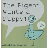 【首页抢券300-100】The Pigeon Wants a Puppy! 鸽子想要小狗狗 凯迪克作品续集 情商培养
