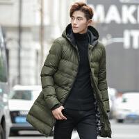 男士棉衣冬季加厚新款外套男学生韩版潮流青年棉袄中长款