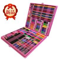 儿童绘画套装学生学习用品男女孩儿童生日礼物水彩画笔工具带画架