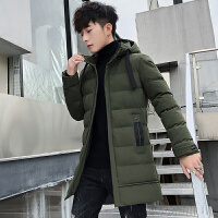 中长款棉衣男士加厚外套2019新款冬季棉袄潮流上衣服韩版羽绒棉服