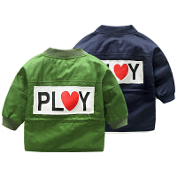 婴儿外套秋女童秋装新款宝宝1岁3个月新生儿上衣秋冬男童开衫
