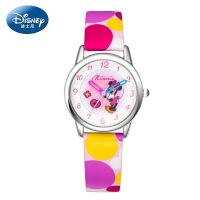 迪士尼儿童手表女童男孩学生手表卡通撞色果冻表男童女孩石英手表