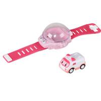 抖音同款手表车优比嘟遥控车儿童迷你玩具小汽车电动男孩四驱赛车 v2i