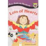 英文原版绘本 LOTS OF HEARTS 汪培�E1一阶段 All Aboard Reading 卡片在哪里